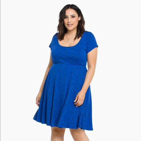 bcbc4e675263 ... Blue Bird Dress Plus Size 1. M 5a4fa3b65512fd46f500b82d
